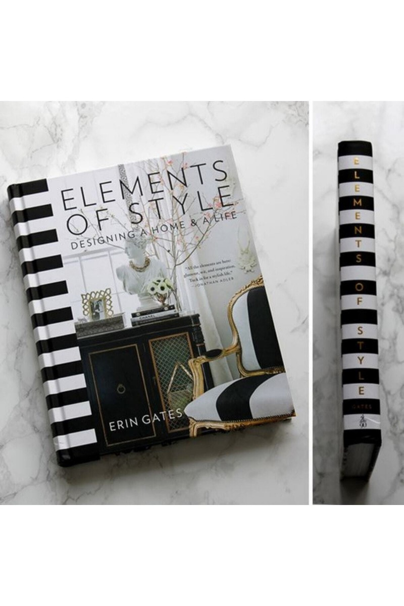 Elements Of Style Dekoratif Kitap Kutu